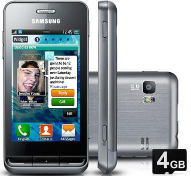 Smartphone Samsung Wave S723