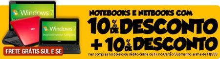 notebook e netbooks oferta