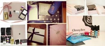 Glossy Box receba cosméticos