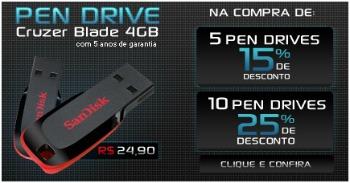 Pen Drive Sandisk 4 GB