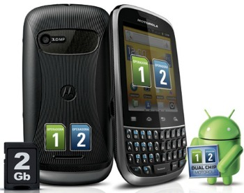 Smartphone Motorola Fire XT 317