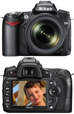 Câmera Nikon D90lk