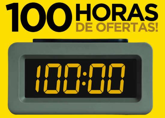 100 horas de ofertas