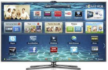 TV LED 3D Samsung ES7000