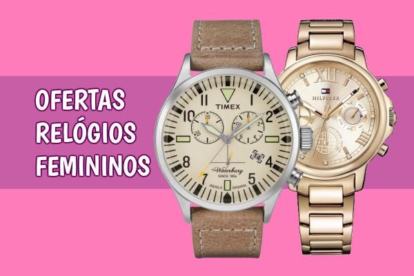 relógios femininos com desconto