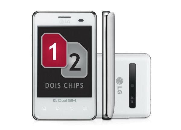 Smartphone LG L3 dual chip