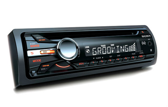 CD Player automotivo sony