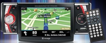 DVD Automotivo e GPS touchscreen