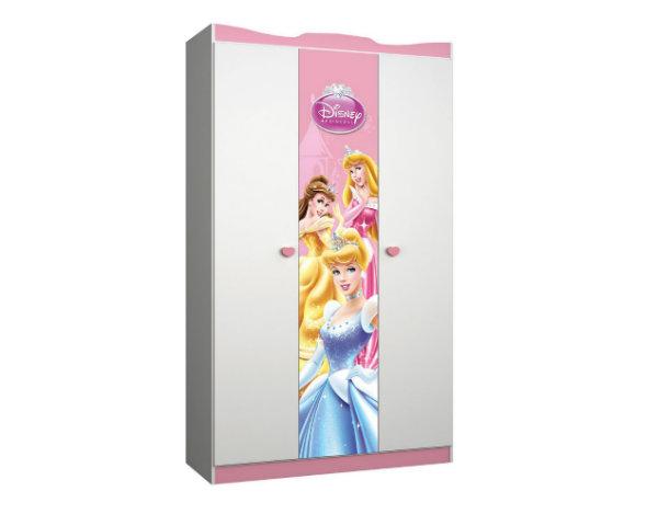 Guarda roupa 3 portas princesas