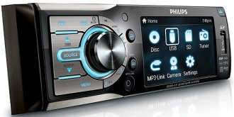 DVD player automotivo Philips