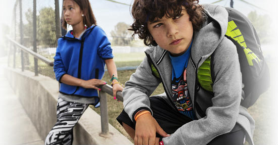 Linha Nike infantil