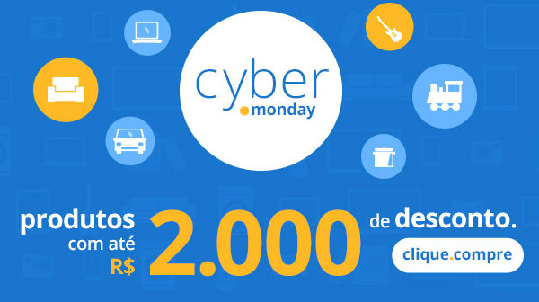 Cyber Monday Casas Bahia
