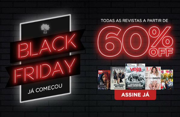 Black Friday Brasil com revistas