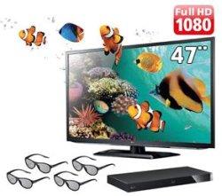 Kit TV 3D LG cinema