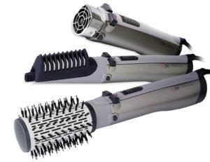 Escova rotating air brush