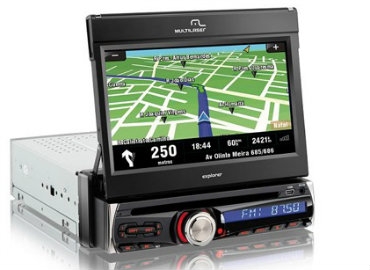 DVD automotivo multilaser com GPS