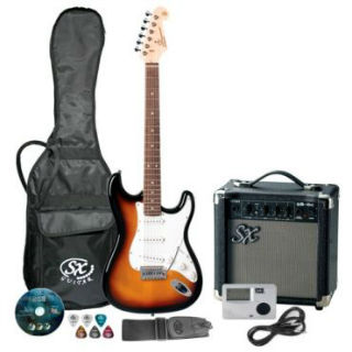 Kit guitarra e amplificador