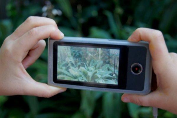 Filmadora de bolso Sony