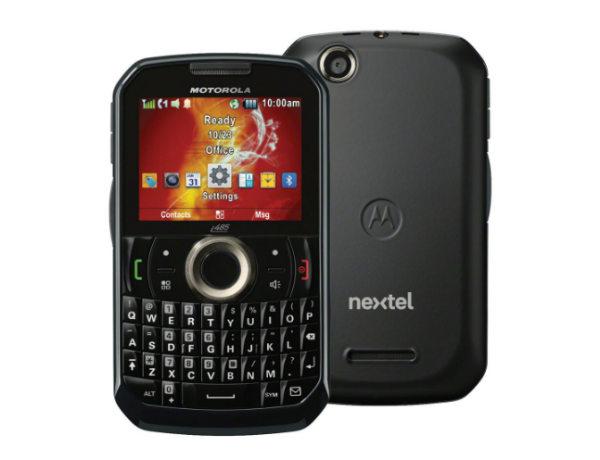 Americanas smartphone Nextel Motorola