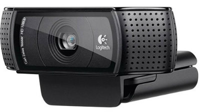 Webcam retrátil logitech HD