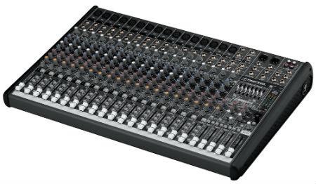 Mesa de som em promoção