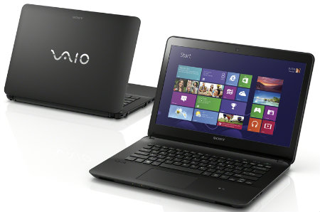 Notebook Sony Vaio tela HD