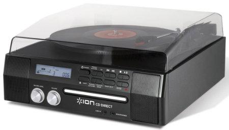 Digitalizador Ion com toca discos