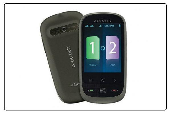 Nagem oferta celular Alcatel