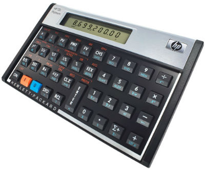 Calculadora platinum HP 12C