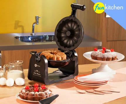 Máquina de bolo fun kitchen