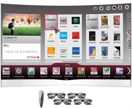 Smart TV 3D OLED LG