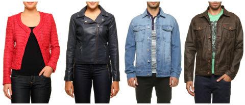 Oferta casacos e jaquetas