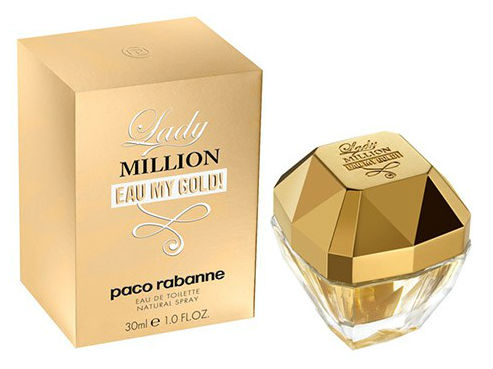 Perfume Lady Million Eau Gold