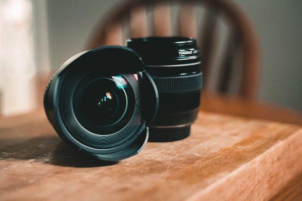 lentes para câmeras