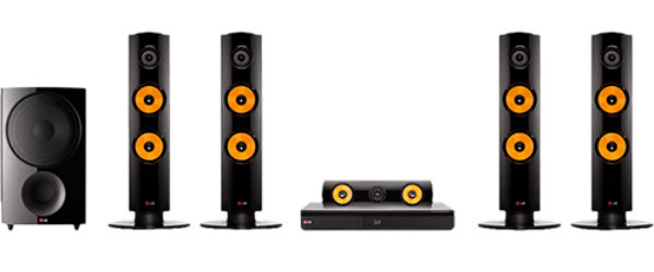 Home Theater 3D LG Blu-Ray