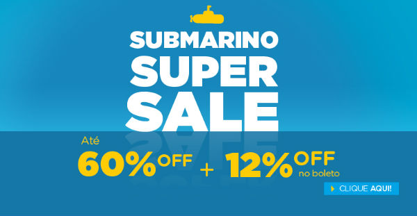 Submarino ofertas descontos