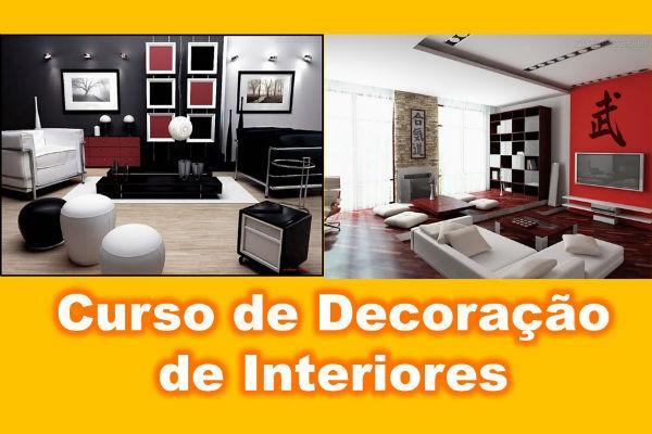 Curso de decoração de interiores