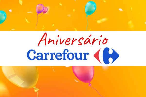 Carrefour ofertas de aniversário