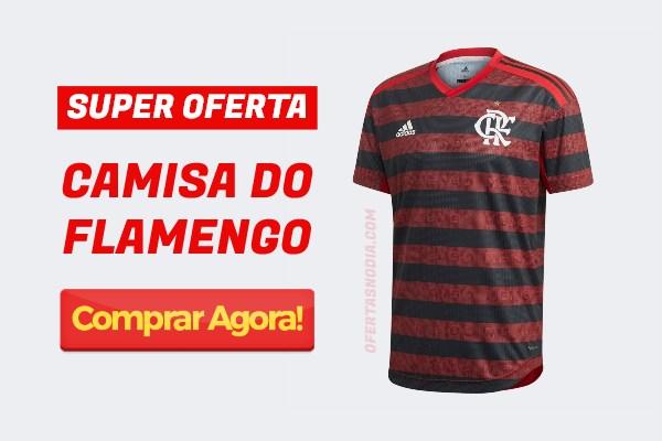 camisa flamengo em oferta